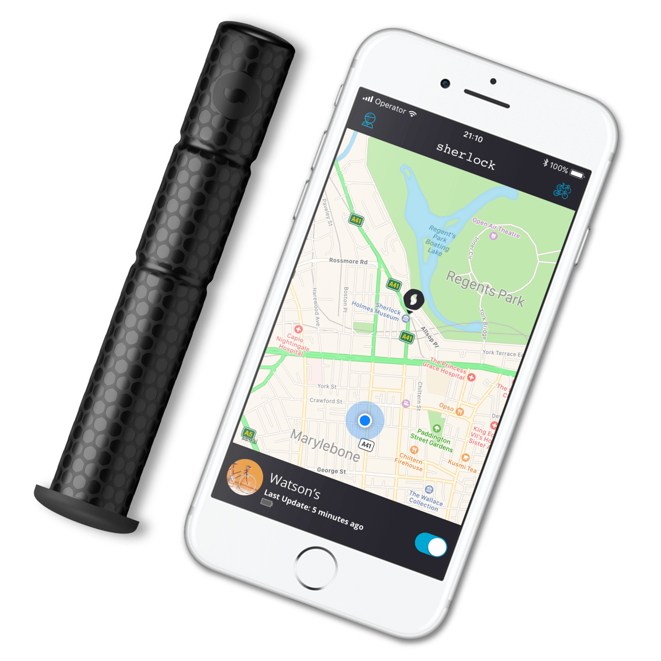 ANTITHEFT TRACKER. FOR YOUR BIKE. >